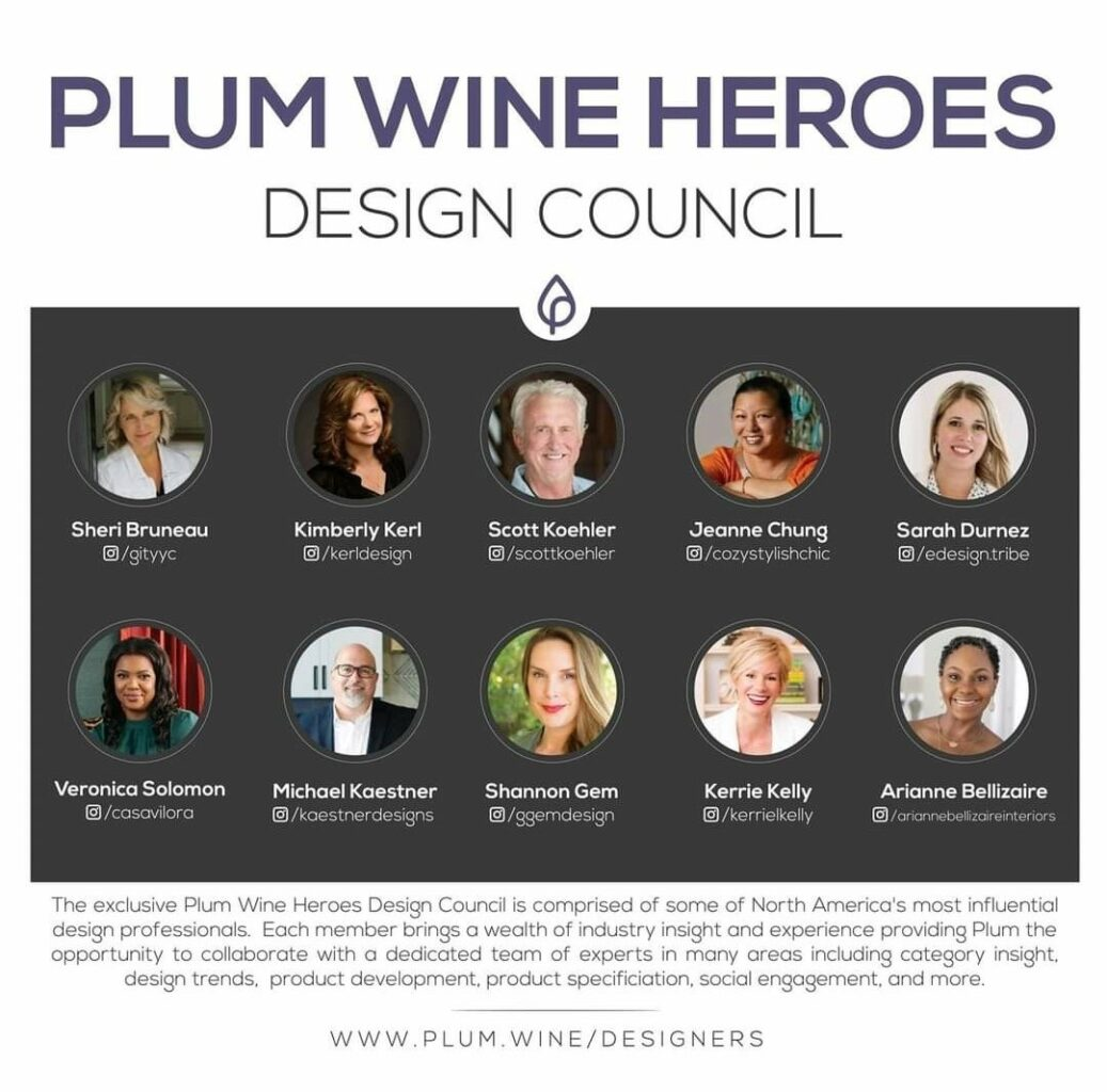 Announcing PLUM WINE HEROES Design Council - on The Pillow Goddess Blog